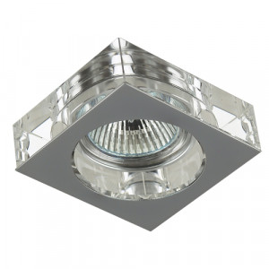 DOWNLIGHT 1xGU10/50W, CHROME/CRYSTAL 71008-V