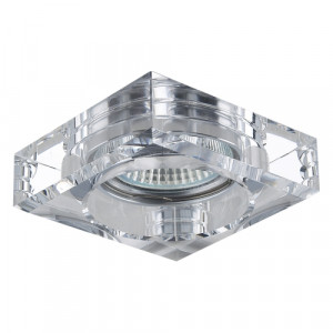 DOWNLIGHT 1xGU10/50W, CRYSTAL