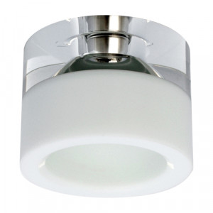 DOWNLIGHT 1xG9/40W, ALU/CLEAR/WHITE 71014-V