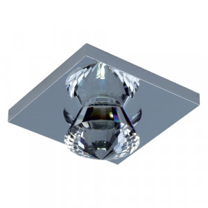DOWNLIGHT LED/1W, CHROME/CLEAR 71016-V