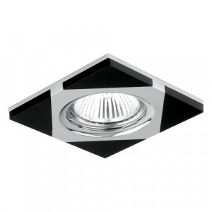 DOWNLIGHT GU10/50W, WENGUE /CHROME 71023-V