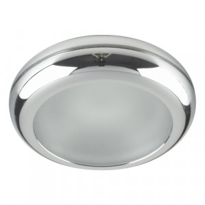 DOWNLIGHT GU10/50W,CHR/FROST GLASS,IP65