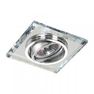 DOWNLIGHT GU10/50W, CH/MIRROR,FLEXIBLE
