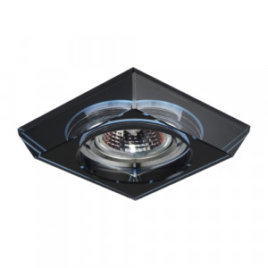 DOWNLIGHT GU10/50W, CHROME/BLUE