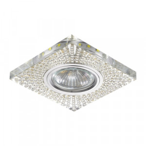 DOWNLIGHT GU10/50W,0,2W LED CHR/MIR,FLEX