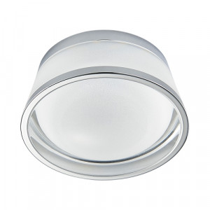DOWNLIGHT LED/5W,4000K, CHROME/CLEAR