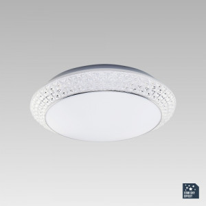 OMNIA LED/36W,4000K, ALUM/WHITE/CLEAR