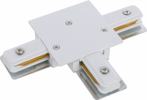 PROFILE RECESSED T-CONNECTOR WHITE 8834