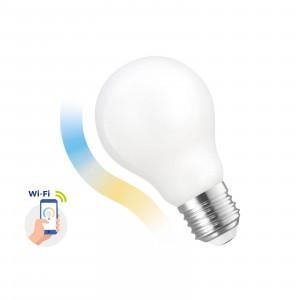 SMART GLS LED bulb 5W COG E-27 Wi-Fi CCT DIMM Milky