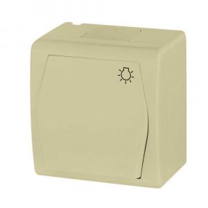 Tlačidlový ovládač so znakom svetlo (1004-10)