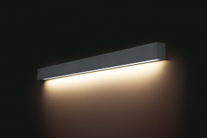 STRAIGHT WALL LED GRAPHITE L 9616
