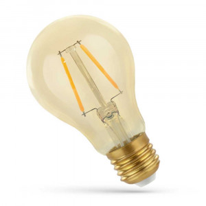 LED FILAMENT E27 GS 2W RETRO SHINE GOLD WOJ14077