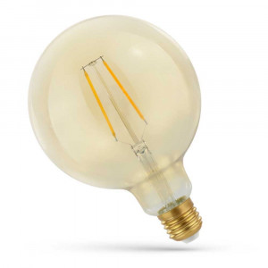 LED FILAMENT E27 GL 2W RETRO SHINE GOLD WOJ14078