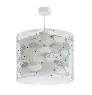 DALBER CLOUDS GREY 41412E šedá Závěsné svítidlo