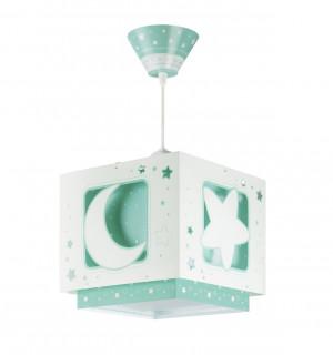 DALBER MOONLIGHT GREEN 63232H zelená Závěsné svítidlo