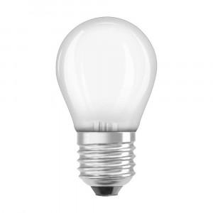 LED FILAMENT MATNÁ E27 4W  TEPLÁ