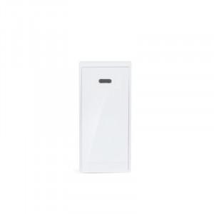 Solight bezdrôtové bezbatériové tlačidlo pre 1L51, 150m, biele, learning code