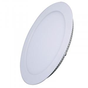 Solight LED mini panel, podhľadový, 6W, 400lm, 4000K, tenký, okrúhly, biely
