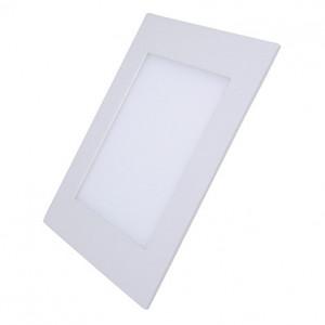 Solight LED mini panel, podhľadový, 6W, 400lm, 4000K, tenký, štvorcový, biely