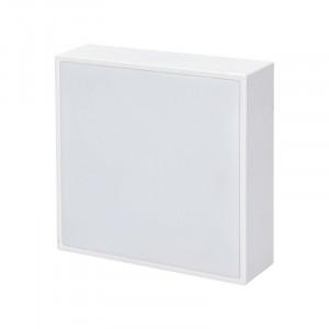 Solight LED panel s tenkým rámčekom, 16W, 1280lm, 4000K, prisadený, štvorcový, biely -V