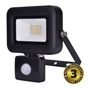 Solight LED reflektor PRO so senzorom, 20W, 1700lm, 5000K, IP44