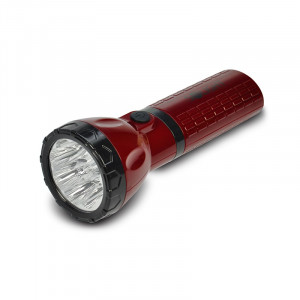 Solight nabíjacie LED svietidlo, plug-in, Pb 800mAh, 9x LED, červenočierna