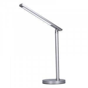 Solight LED stolná lampička, 7W, stmievateľná, zmena chromatickosti, strieborná farba