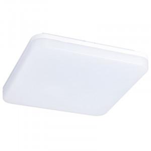 Solight LED vonkajšie osvetlenie, prisadené, štvorcove, IP54, 24W, 1920lm, 4000K, 28cm