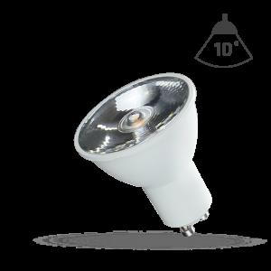 LED GU10 6W 10° Studená WOJ14105