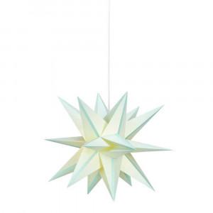 VIANOČNÁ DEKORÁCIA SKILLINGE 3D Paperstar pendant Lightblue 704461