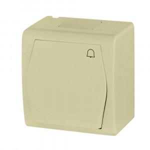 Tlačidlový ovládač so znakom zvonček (1005-10)