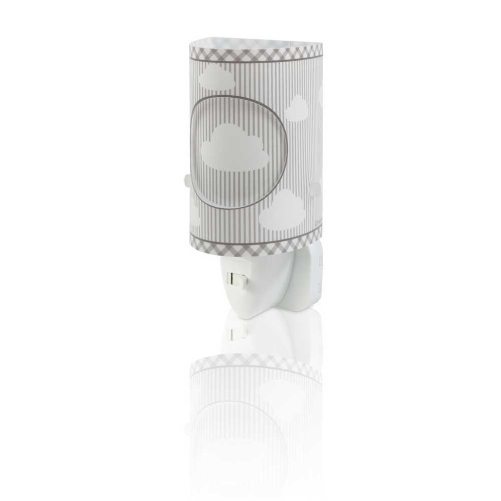 Dalber DALBER SWEET DREAMS 62015E šedá Noční LED lampa do zásuvky