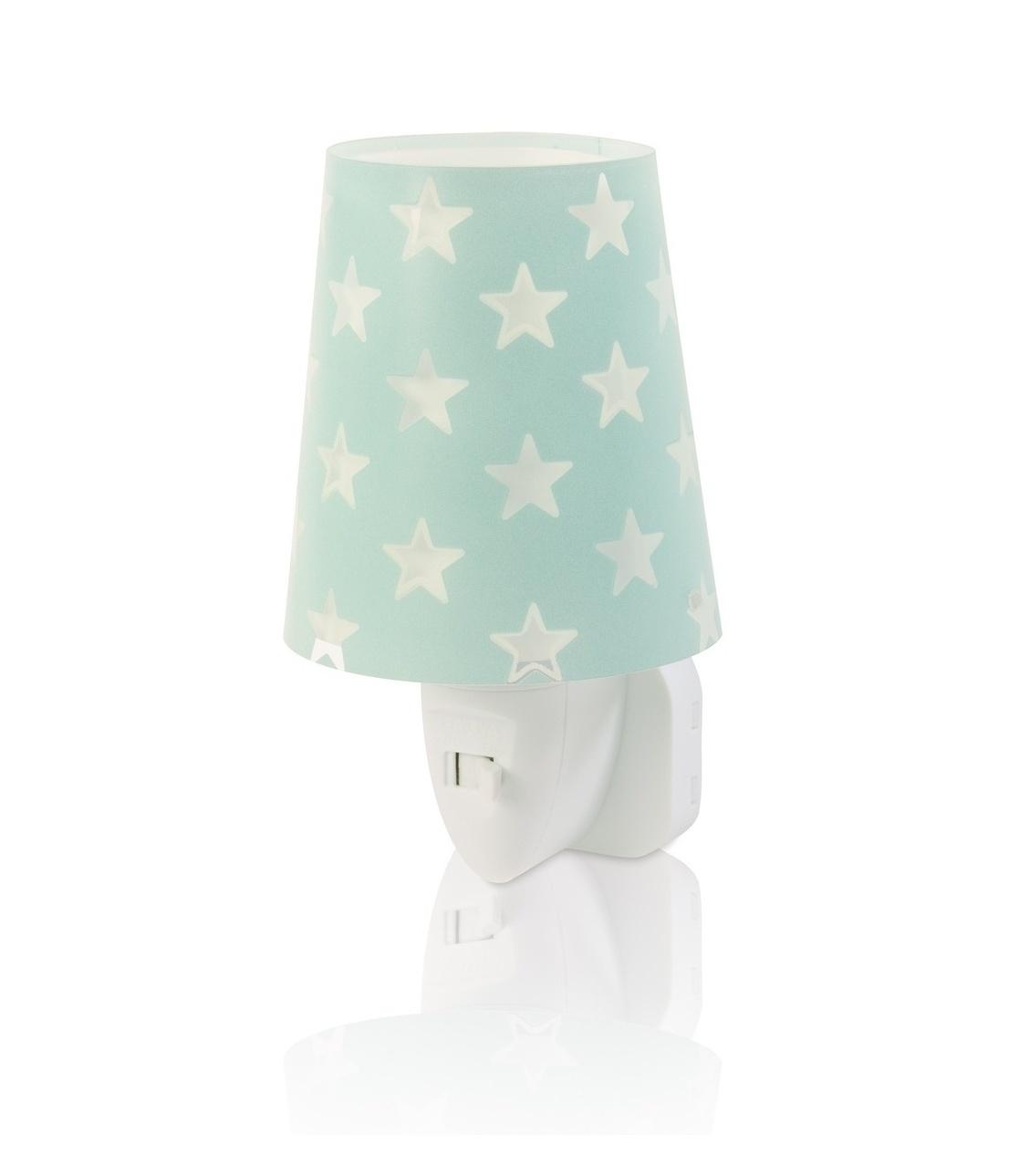 Dalber DALBER STARS 81215H zelená Noční LED lampa do zásuvky