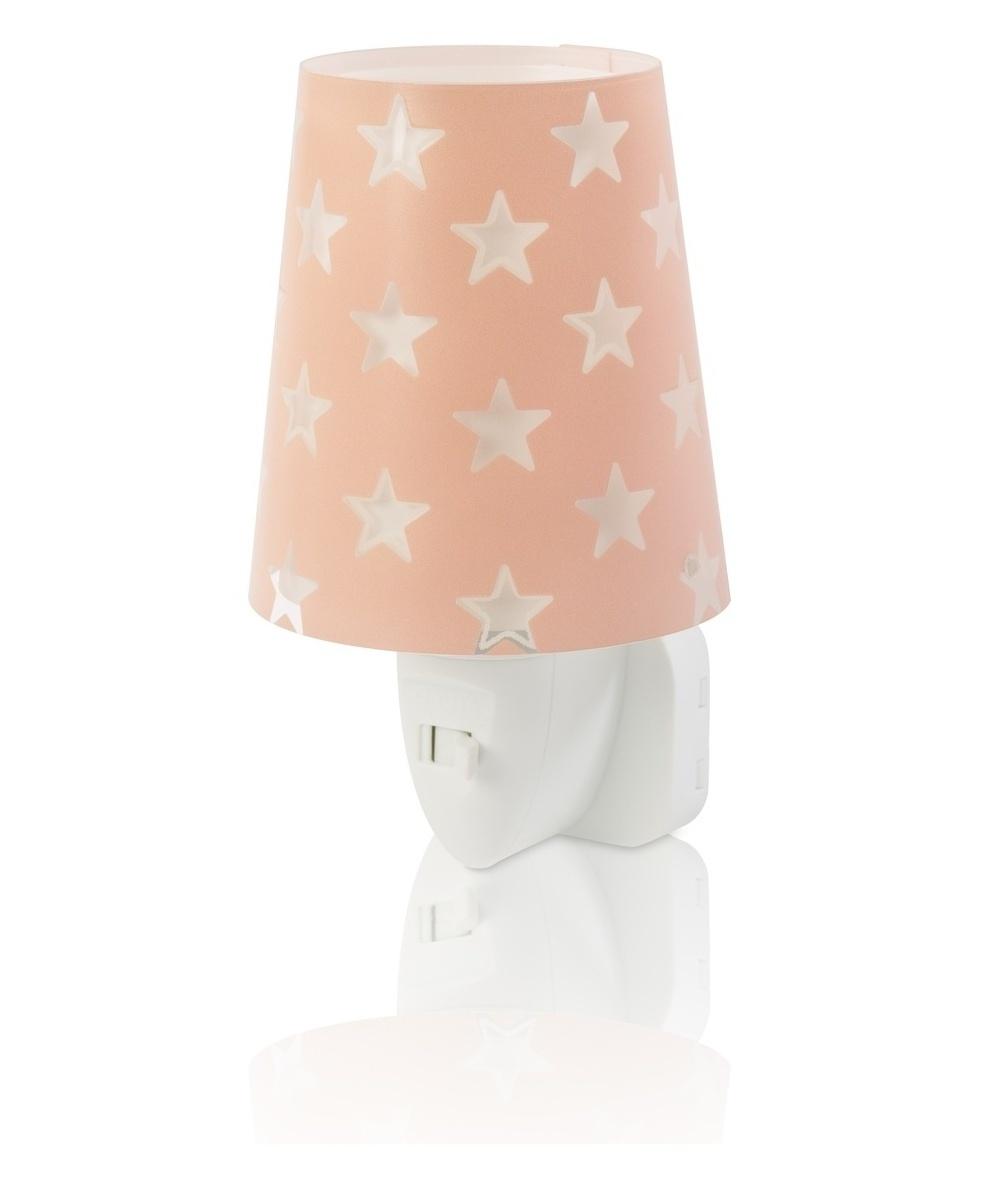 Dalber DALBER STARS 81215S růžová Noční LED lampa do zásuvky