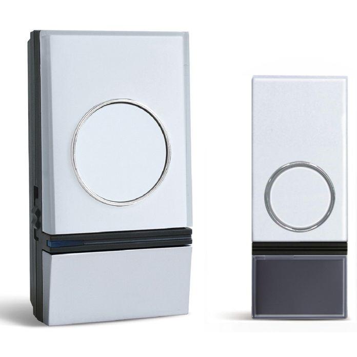 Solight Solight bezdrôtový zvonček, do zásuvky, 200m, biely, learning code